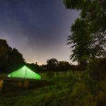 Bivakzone op de Koppenberg, Oudenaarde. Legaal kamperen in België. © West-Vlaamse landschapsfotograaf Glenn Vanderbeke