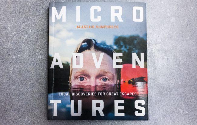 Glenn Vanderbeke, boek review, microadventures, Alastair Humphreys