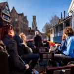 Brugge per boot, Bootje varen op de reien, boottocht Brugge, West-Vlaamse landschapsfotograaf Glenn Vanderbeke